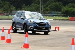Subaru Forester e-Boxer_Test Drive Course