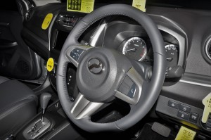 Perodua Aruz 1.5AV_Steering Wheel_Malaysia_Launch