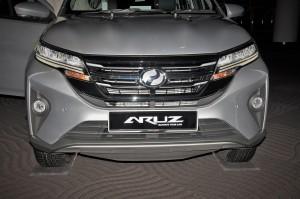 Perodua Aruz_Front Grille_Malaysia