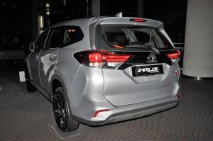 Perodua Aruz_Rear View_Malaysia