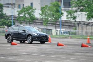 Subaru XV_Slalom Course
