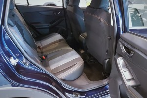 Subaru XV_Rear Seats