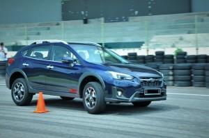 Subaru XV_Slalom_Malaysia_Test Drive