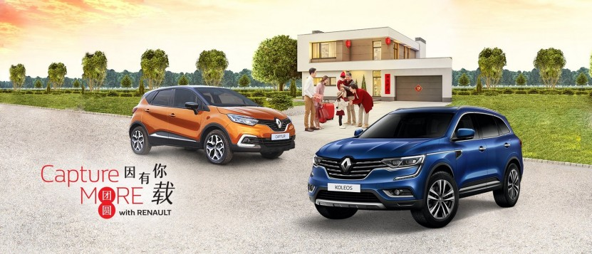 TC Euro Cars 'Capture More With Renault' Campaign
