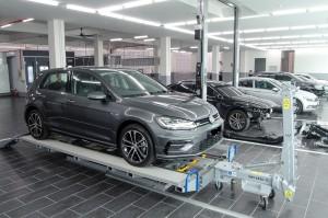 Volkswagen Alor Setar 4S Centre - Car O Liner Alignment Bench - Kedah, Malaysia