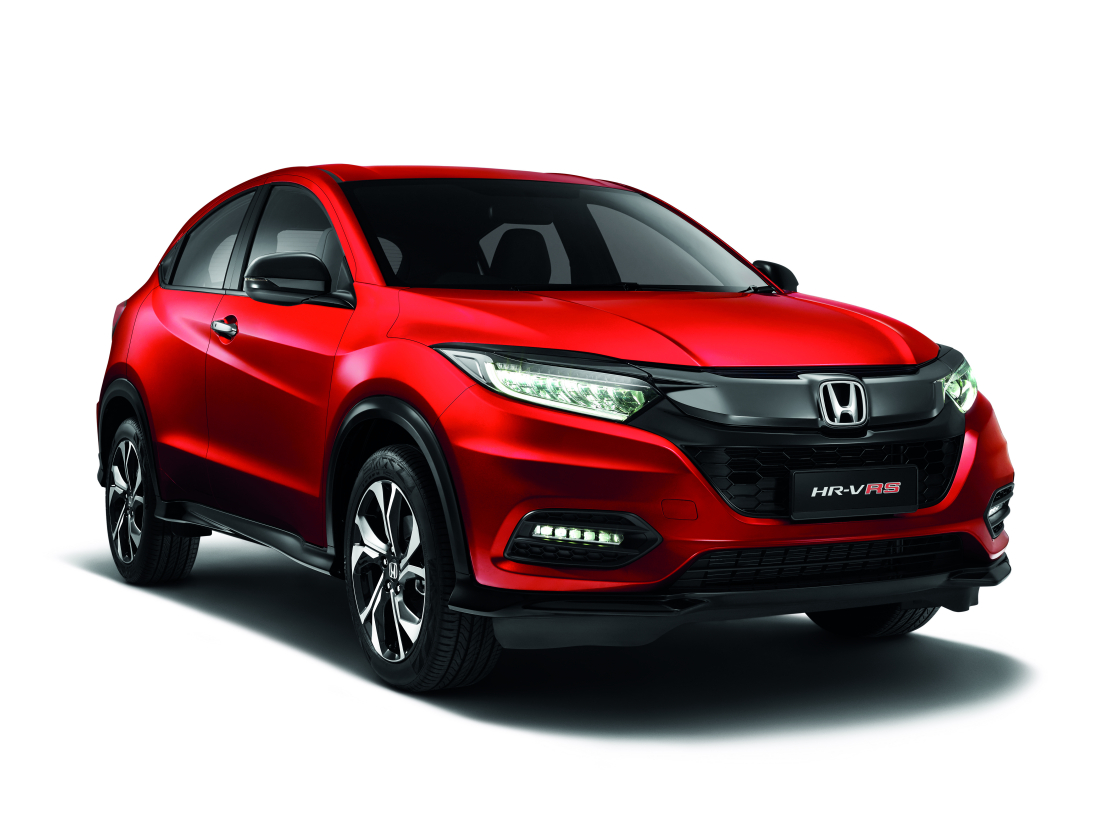 Honda Hr V Sport Hybrid I Dcd And Rs Introduced In Malaysia