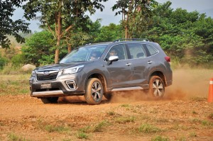 Subaru Forester_Off-road Course