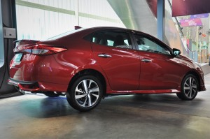 Toyota Vios_Rear View_Malaysia