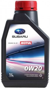 SUBARU Engine Oil by MOTUL 0W20 1L - Motor Image