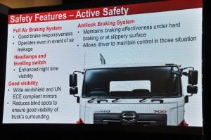 Hino 700 Series SR1E 6x2_Malaysia Launch_Active Safety