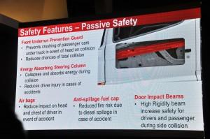 Hino SR1E 700 Series_6x2 Prime Mover_Malaysia_Launch_Passive Safety
