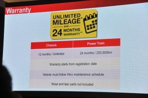 Hino Motor Sales Malaysia_SR1E_700 Series_6x2 Prime Mover_Truck_Launch_Warranty