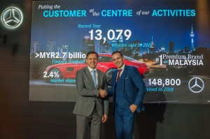 Mercedes-Benz Malaysia_Claus Weidner_Mark Raine_FY2018 Performance Report