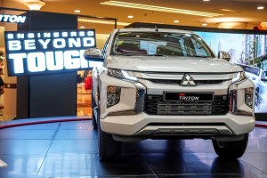 Mitsubishi Triton - Engineered Beyond Tough - 2019 - Malaysia