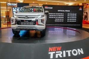 Mitsubishi Triton- Priced from RM100k - Malaysia Launch - 2019