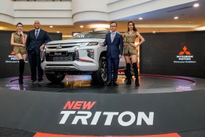 Mitsubishi Triton_Launch_COO of MMM, En Ilham Helmi and CEO of MMM Mr. Tomoyuki Shinnishi - Malaysia