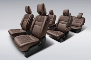 Nissan Serena J IMPUL_Mocha-coloured Diamond Quilted Premium Leather Seats_Malaysia