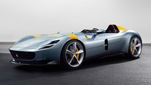 The Ferrari Monza SP1 is a single seater