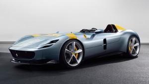 The Ferrari Monza SP1 is a single seater