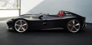 Ferrari_Monza_SP2_Side View_Most Beautiful Supercar_2018