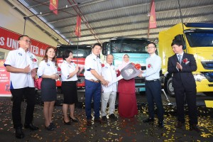 Heng Da Logistic Sdn Bhd purchased 50 units of the newly launched Sinotruk T7H