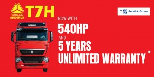 Sinotruk_5 Years Unlimited Mileage Warranty_T7H_Sendok Group_Malaysia