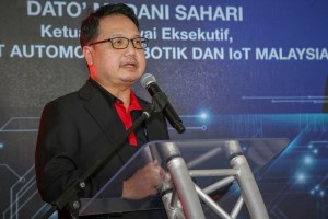 Dato Madani Sahari_CEO_Malaysia Automotive, Robotics and Internet of Things Institute_MARii