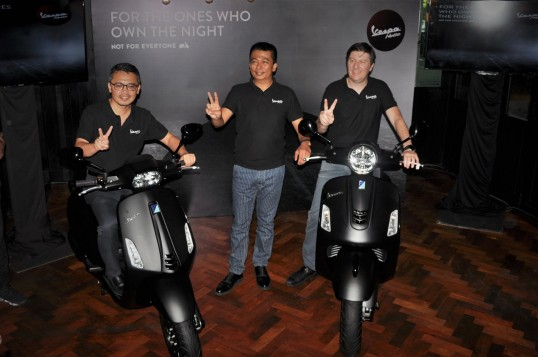 Vespa Malaysia Introduces Notte Edition Variants Of GTS Super 300 And Sprint 150
