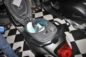 Vespa Notte Sprint 150_Under-seat Storage_Malaysia