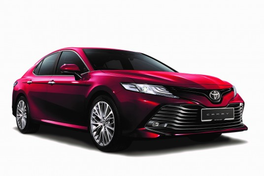 All-New Toyota Camry Awarded 5-Star Rating By ASEAN NCAP