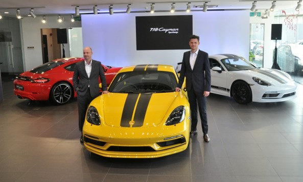 Sime Darby Auto Performance Introduces 718 Cayman SportDesign Limited Edition Series