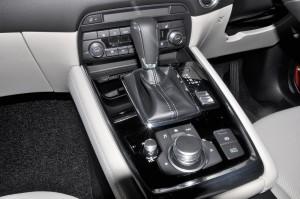 Mazda CX-8_Centre Console_Gear Lever_MZD Connect_Malaysia_Preview
