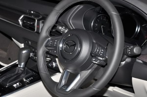Mazda CX-8_Steering Wheel_Preview_Malaysia