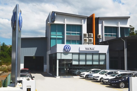 Volkswagen Kota Bumi 3S Centre Officially Launched In Sabah