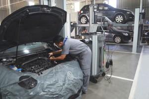 Volkswagen Kota Bumi 3S Centre_Service Bays_Sabah_Malaysia