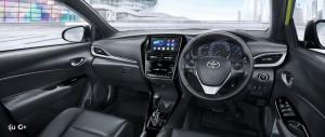 Toyota Yaris_Dashboard