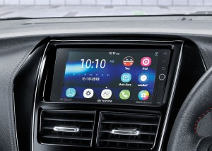 Toyota Yaris_Infotainment Touchscreen
