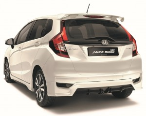 Honda Jazz Mugen_Limited Edition_Rear View_Spoiler_Malaysia