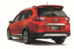 The Honda BR-V Special Edition has a sportier look