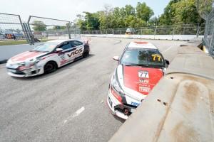 Toyota Vios Challenge_Aiman Tino_Promotional Class_Toyota Gazoo Racing_Barrier