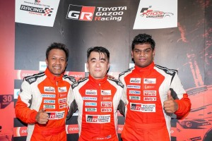 Toyota Vios Challenge_Round 3_Race 1_Super Sporting Class_Keifli Othman, Boy Wong, Brendan Paul Anthony_Malaysia