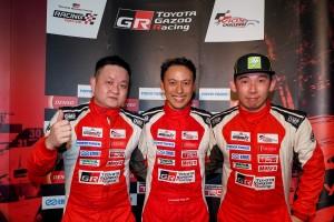 Toyota Vios Challenge_Sporting Class_Round 3_Race 1_Eric Yong, Clement Yeo, Patrick Tam_Toyota Gazoo Racing_Malaysia_2019