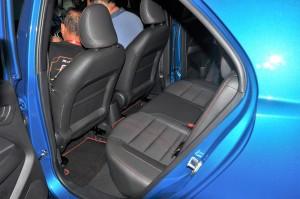 Proton Iriz 2019_Rear Seats_Malaysia