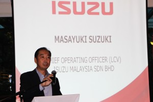Isuzu Malaysia_Masayuki Suzuki_Chief Operating Officer_Light Commercial Vehicle Division