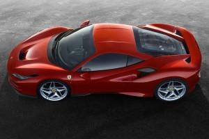 Ferrari F8 Tributo_Top View
