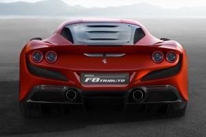 Ferrari F8 Tributo_Rear View