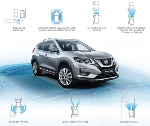 Nissan X-Trail_Facelift_2019_Intelligent Mobility_Safety_Malaysia