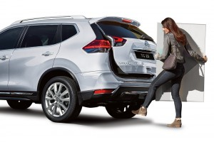Nissan X-Trail_Facelift_Motion Activated Powered Tailgate_Malaysia_2019