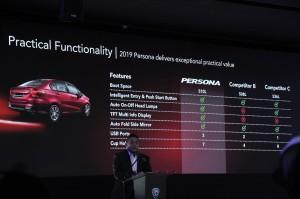 Proton Persona_1.6 Premium_Functionality Comparison_Malaysia
