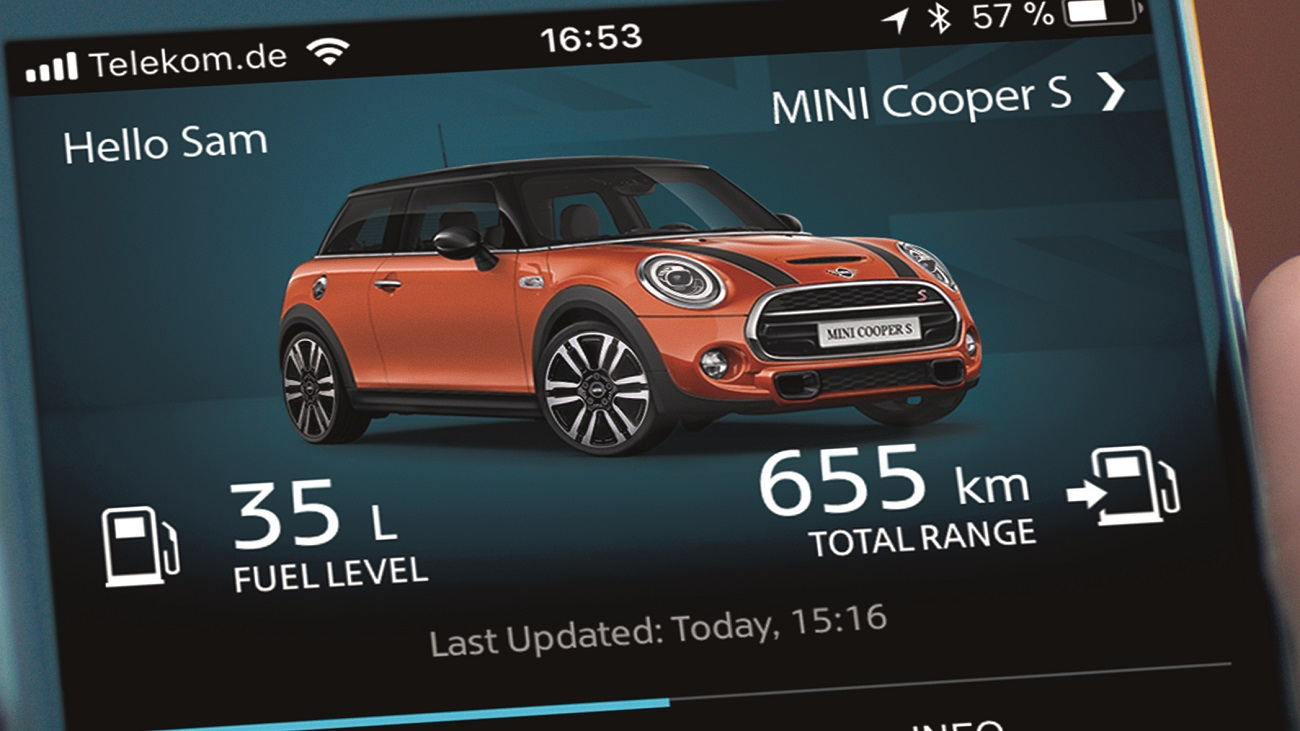 New Generation MINI Connected 4G Features Come Standard In